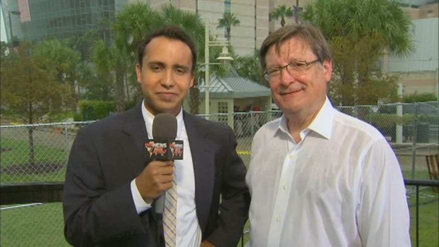 Rep. Francisco Canseco (R-TX) talks to Fox News Latino at the Republican National Convention in Tampa, FL.