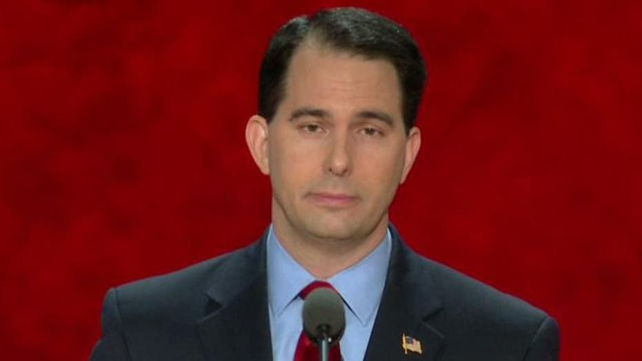 Scott Walker speaks at RNC