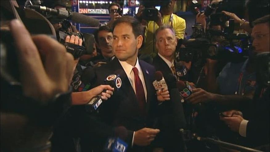Florida Sen. Marco Rubio talks about Mitt Romney, Paul Ryan and more.