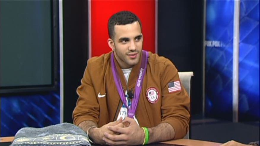 Danell Leyva is still basking in the glory of winning his first Olympic medal in the London games this summer, and keeping a focused eye on his gymnastic future.