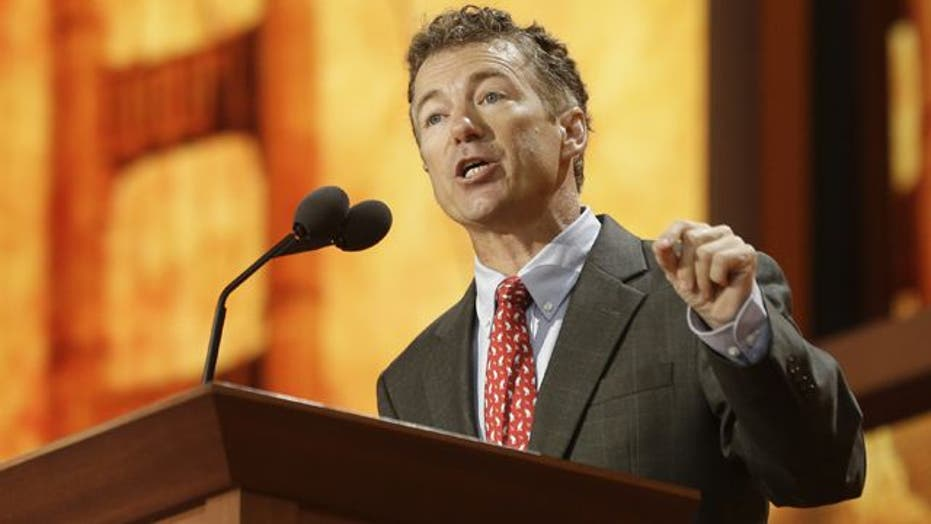 Sen. Paul: President is uniquely unqualified to lead US