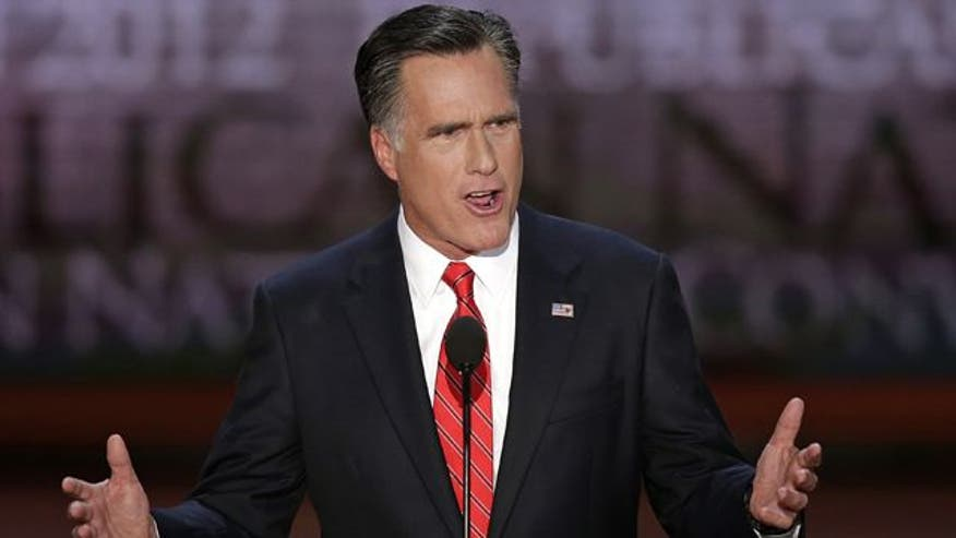 Mitt Romney accepts Republican nomination for president, unveils 5-step plan to create 12 million jobs
