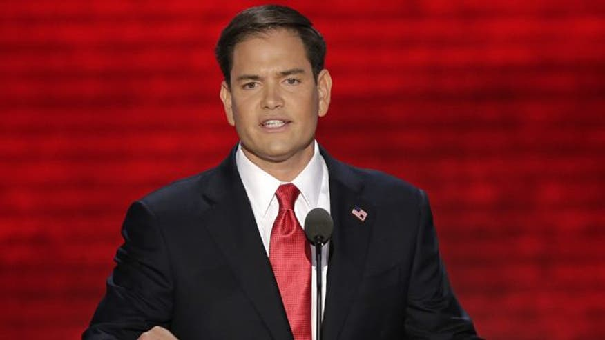 Florida senator addresses Republican National Convention, introduces Mitt Romney