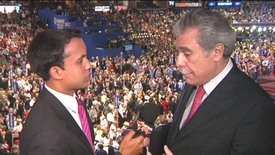 Former Commerce Secretary Carlos Gutierrez talks to Fox News Latino at the Republican National Convention in Tampa, FL.