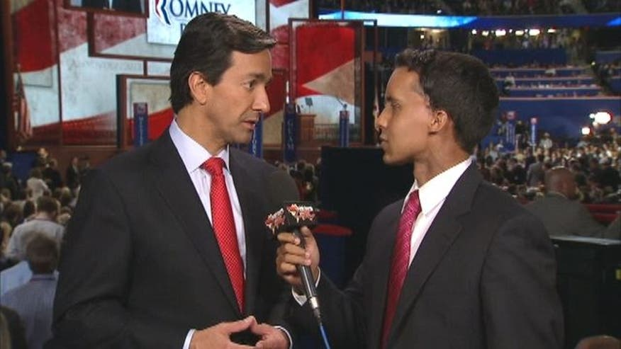 Puerto Rico Governor Luis Fortuño speaks to Fox News Latino after his speech at the RNC.