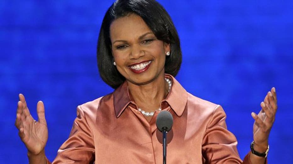 Rice: America will not be reluctant to lead
