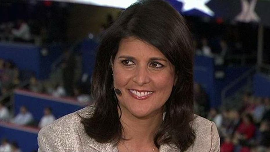 Gov. Haley: Government is not the answer