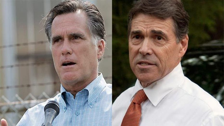 Romney vs. Perry