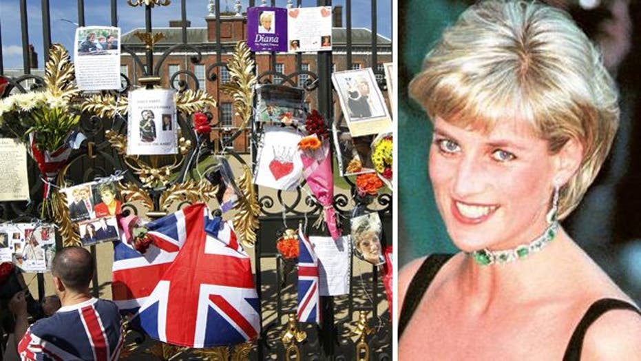 Princess Diana remembered 15 years after her death