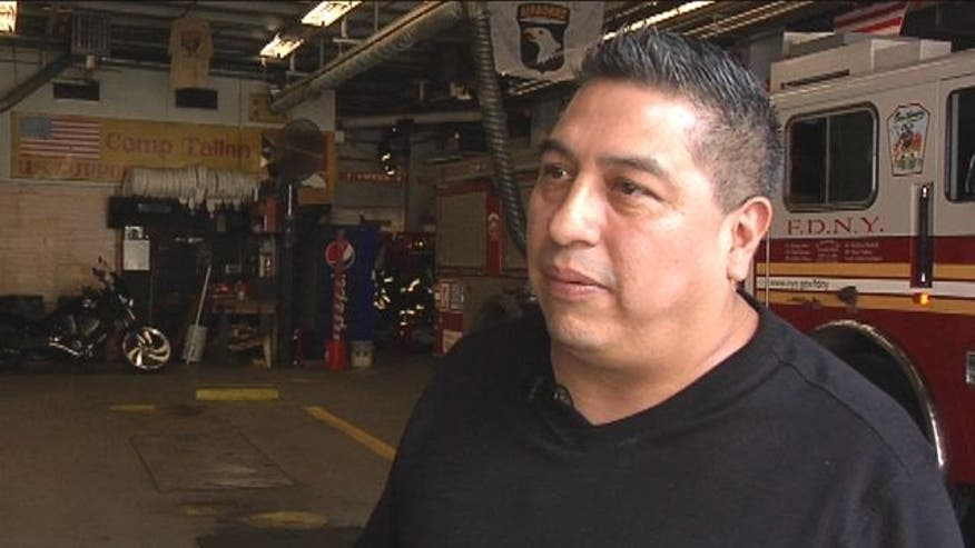 Fox News Latino interviews Rafael Hernanadez, Mexican Firefighter.