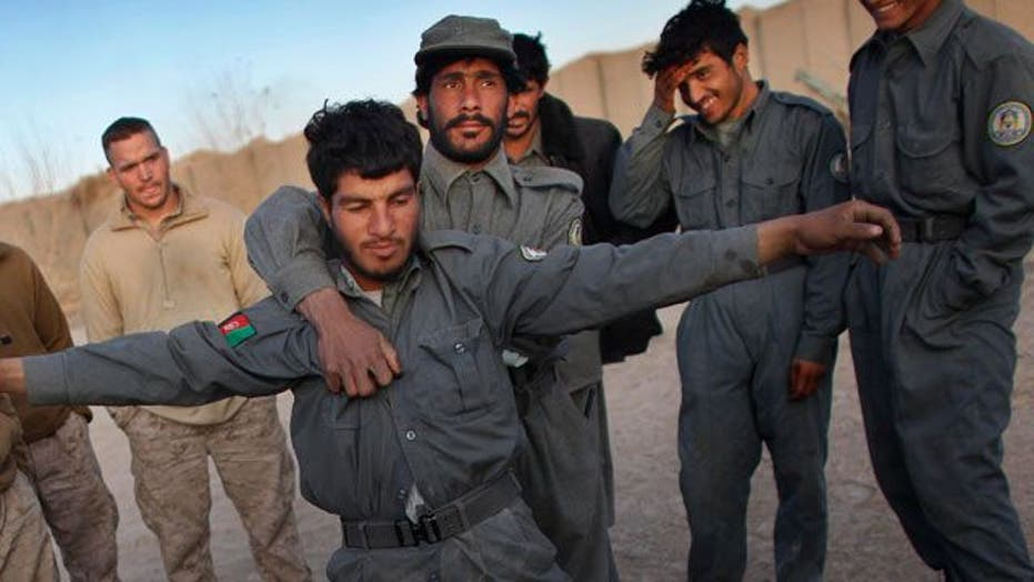 U.S. military halts training of some Afghan security forces