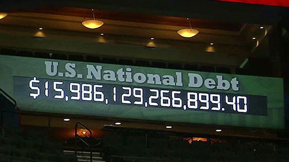 US national debt set to pass $16T as DNC opens