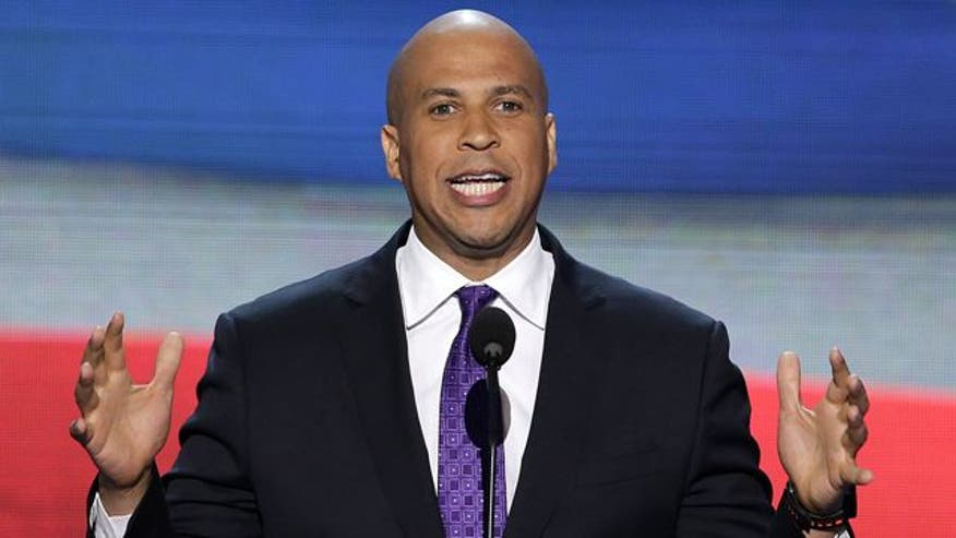 Newark, New Jersey mayor addresses DNC