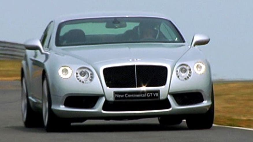 Fox Car Report drives the 2013 Bentley Continental GT V8