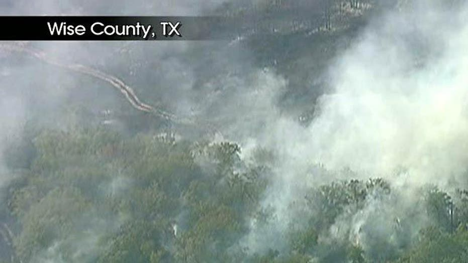 Deadly Wildfires Scorch Texas