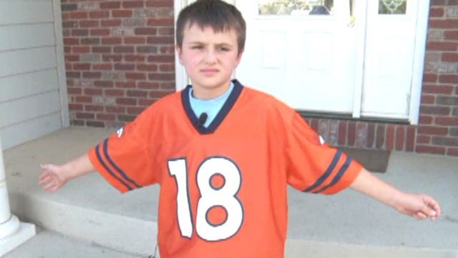 new concept 90632 c8952 Bronco fans told they can't wear Peyton Manning jerseys to ...