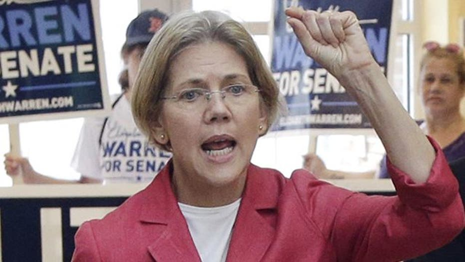 Elizabeth Warren's big night at DNC