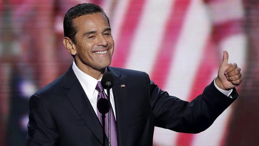 Mayor of Los Angeles makes pitch for President Obama's reelection