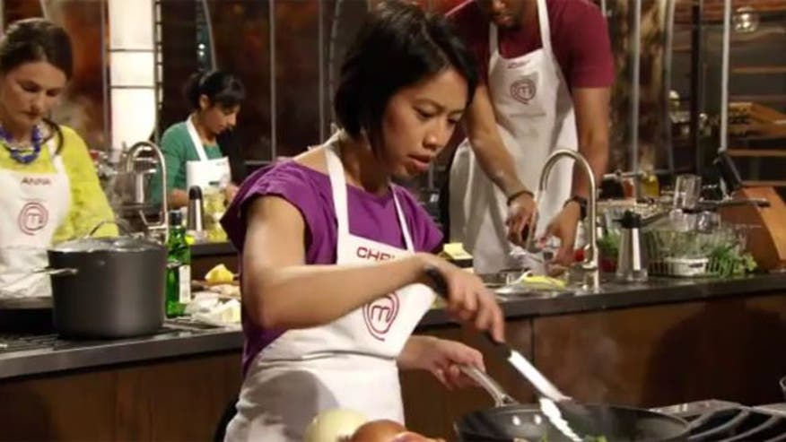 Despite suffering from an autoimmune disease that results in blindness, Christine Ha has made it to the final round of Fox's hit cooking show MasterChef. She tells Laura Ingle how her severe vision impairment hasn't stopped her from serving up some tough competition