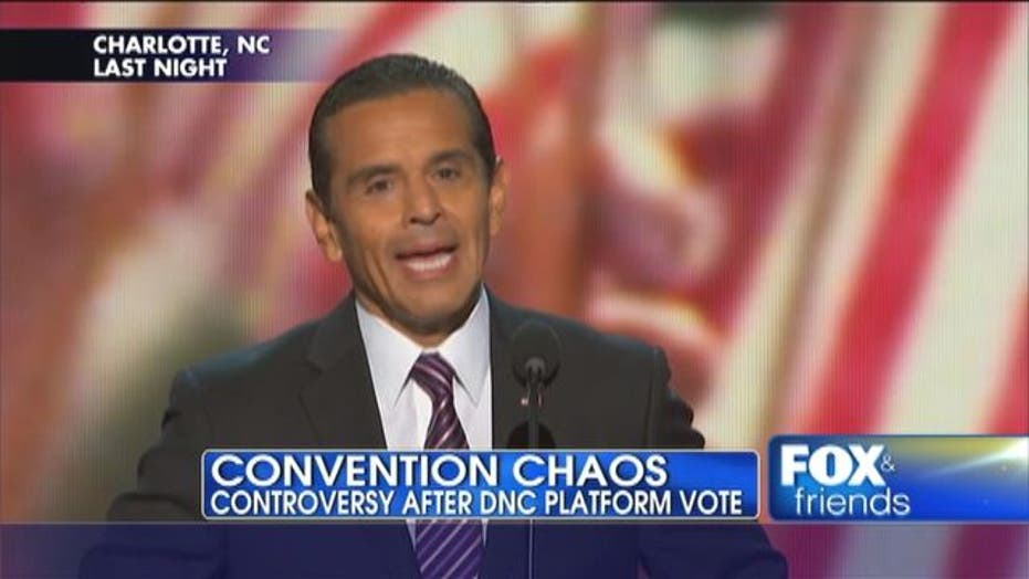 Controversy After DNC Platform Vote
