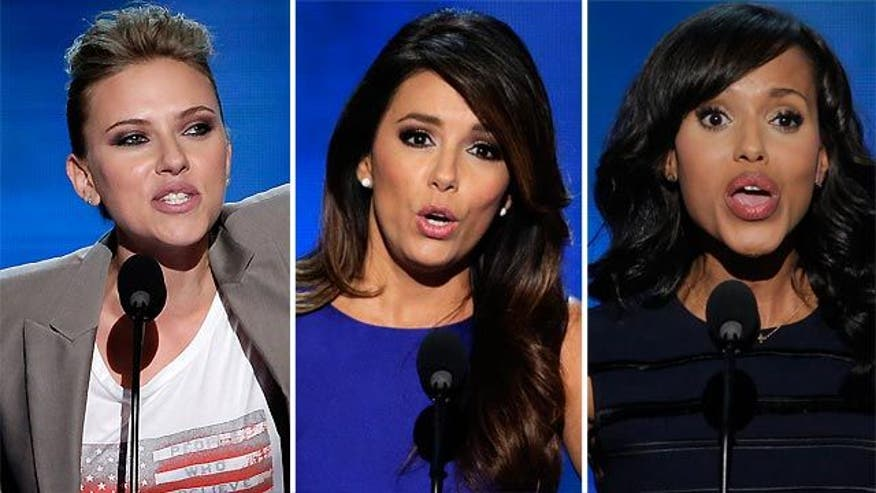 Stars take stage at Democratic National Convention