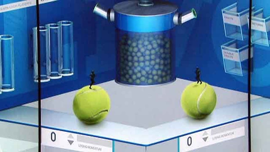New US Open technology predicts tennis champs