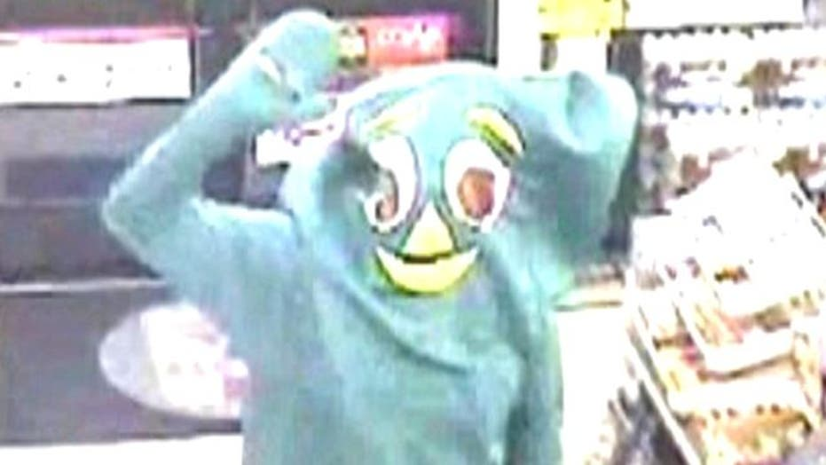 Gumby Fails Miserably in Attempted Robbery