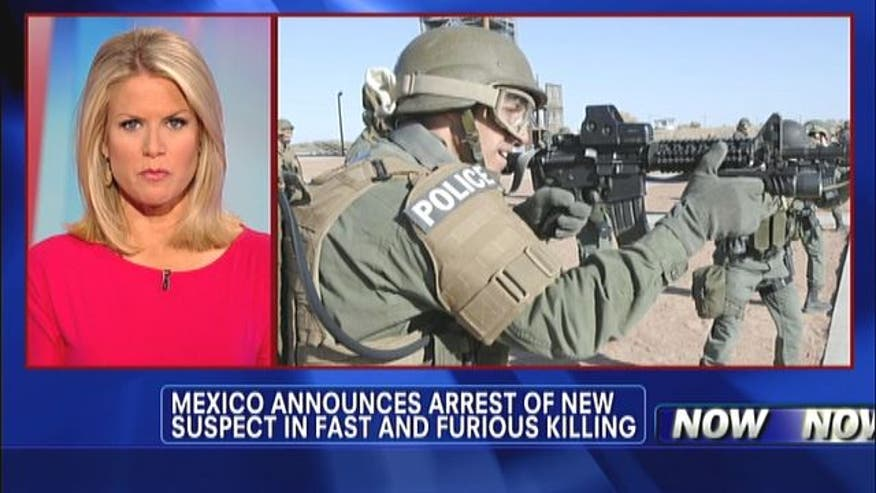 Mexican federal police announced that they have arrested a suspect in the killing of U.S. Border Patrol agent Brian Terry.