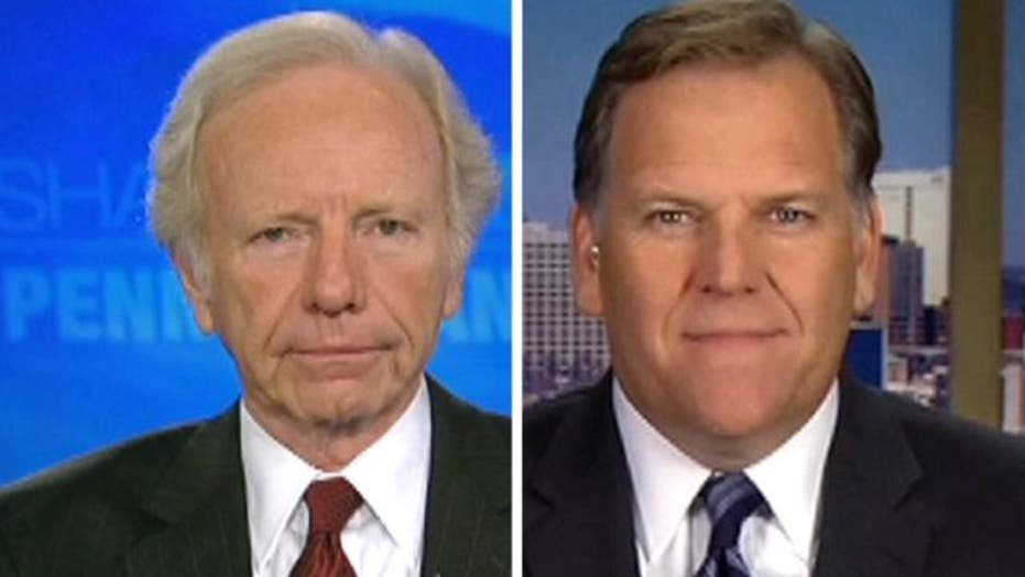 Lieberman, Rogers Talk War on Terror