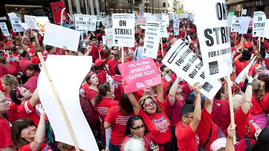 Educators demand less work, more pay