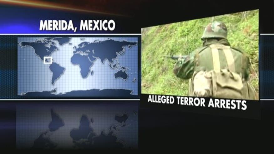 Three men arrested in Mexico with alleged ties to Hezbollah.
