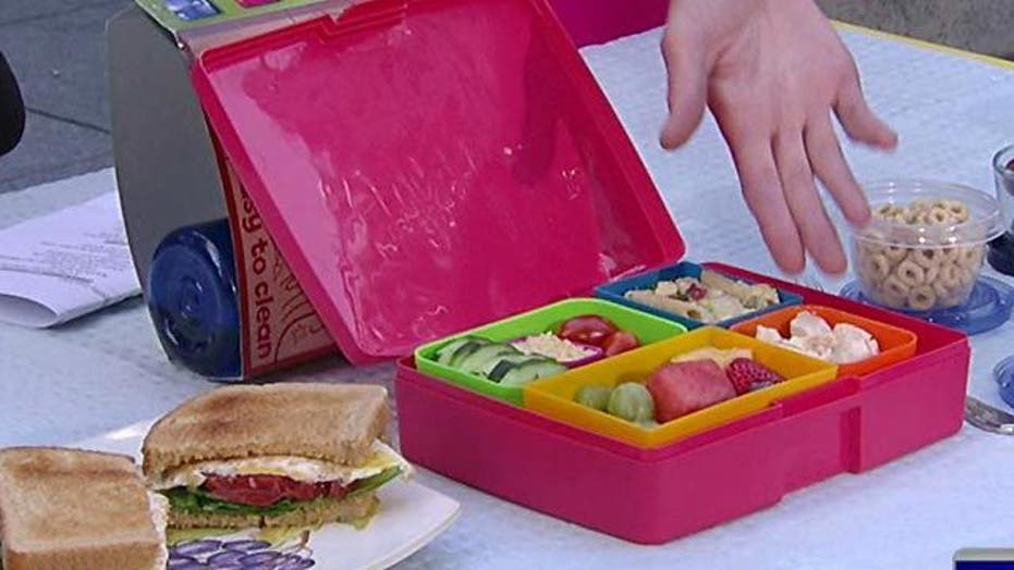Tips for packing healthy brown bag lunches