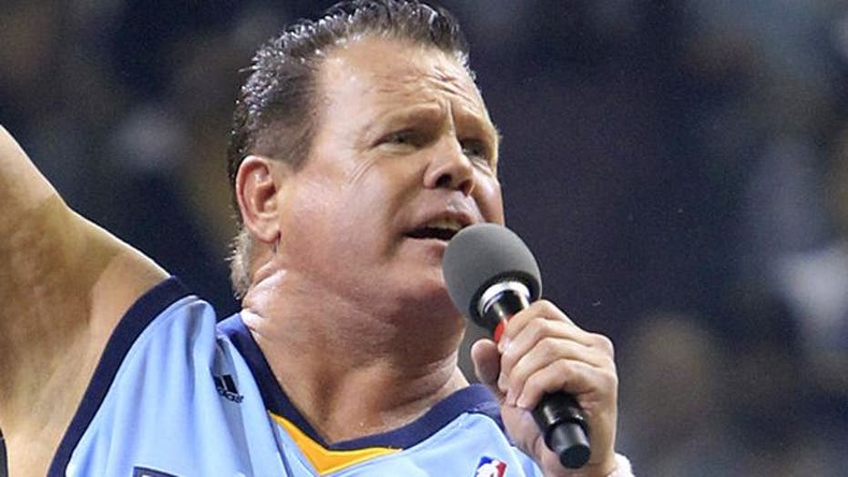'The King' collapses during WWE event