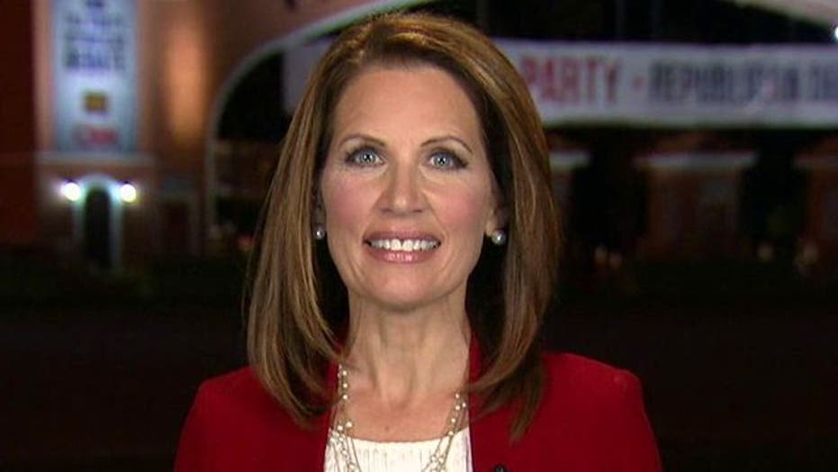 Bachmann: 'People Don't Want Crony Capitalism'