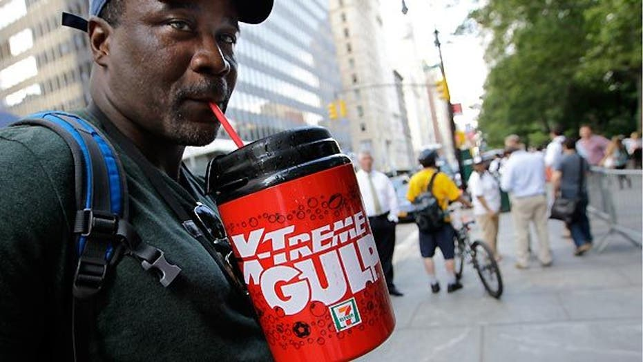 Grapevine: Size matters for sugary drinks in NYC