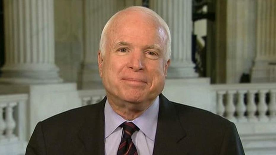 McCain: New policy, outlook needed in Middle East