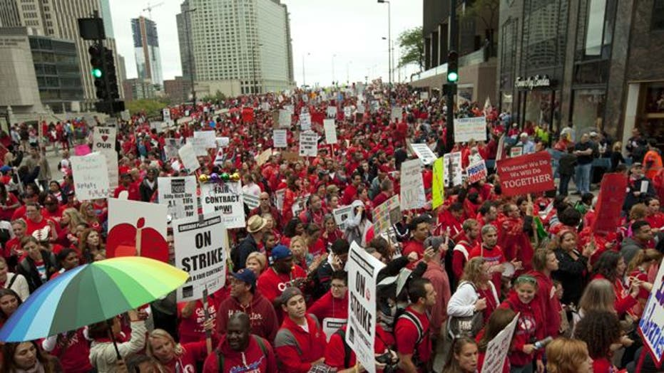 Progress in bid to end Chicago teachers strike?