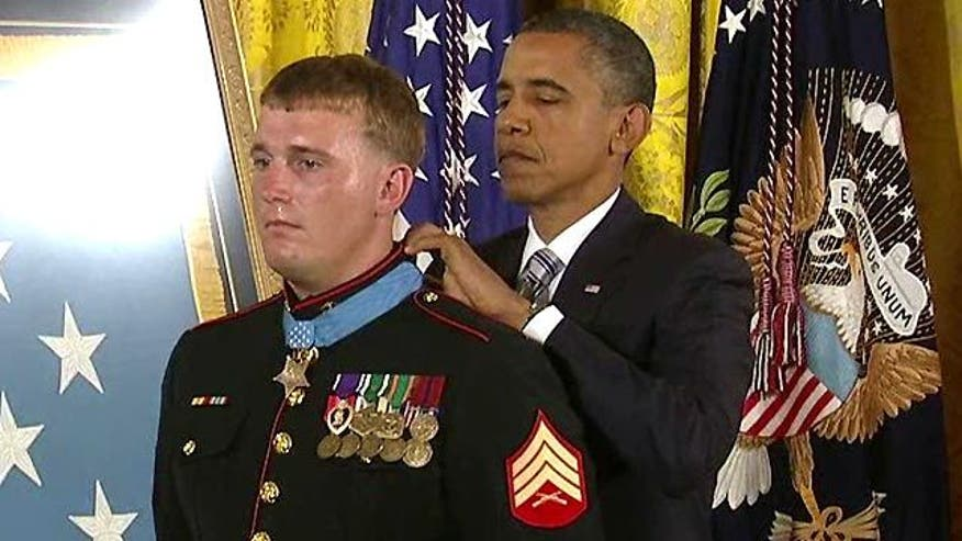 Sgt. Meyer receives nation's highest military honor for saving 36 lives in Afghanistan