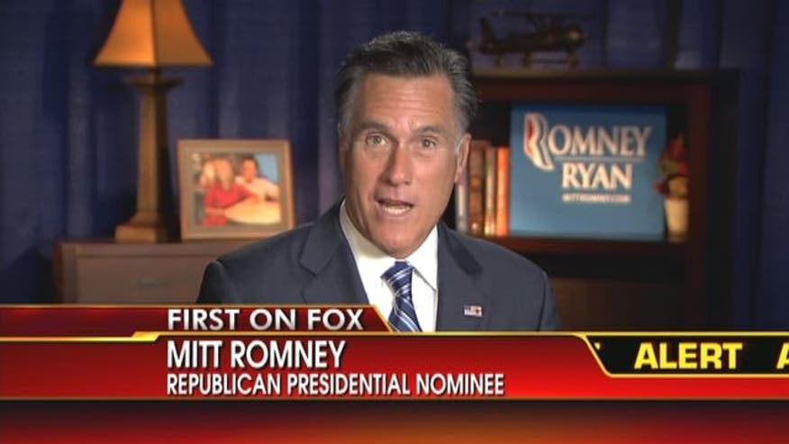 Mitt Romney gives no apology for '47 Percent' comment in exclusive interview with Neil Cavuto.