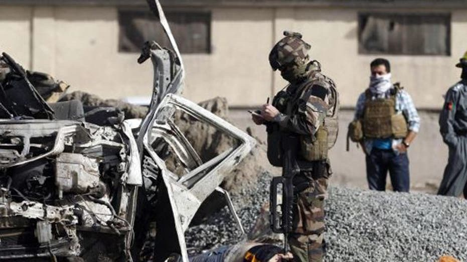 Wave of insider attacks halts US joint patrols with Afghans