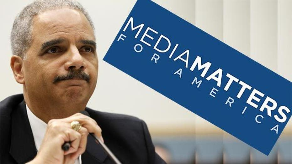 Justice working with Media Matters to suppress free press?