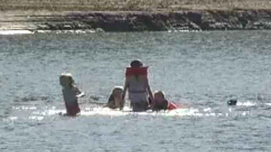 Heroes save eight kids from drowning