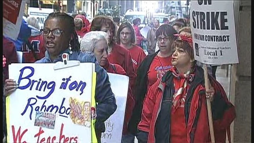 Following more than a week spent on the picket line, Chicago teachers and students are heading back to the classroom.