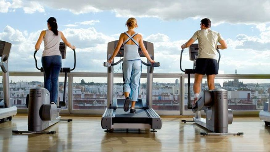 Find out which one machine burns more calories.