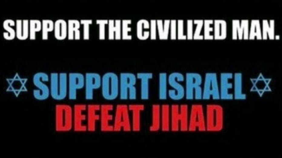 Anti-jihad ads causing a stir in Manhattan