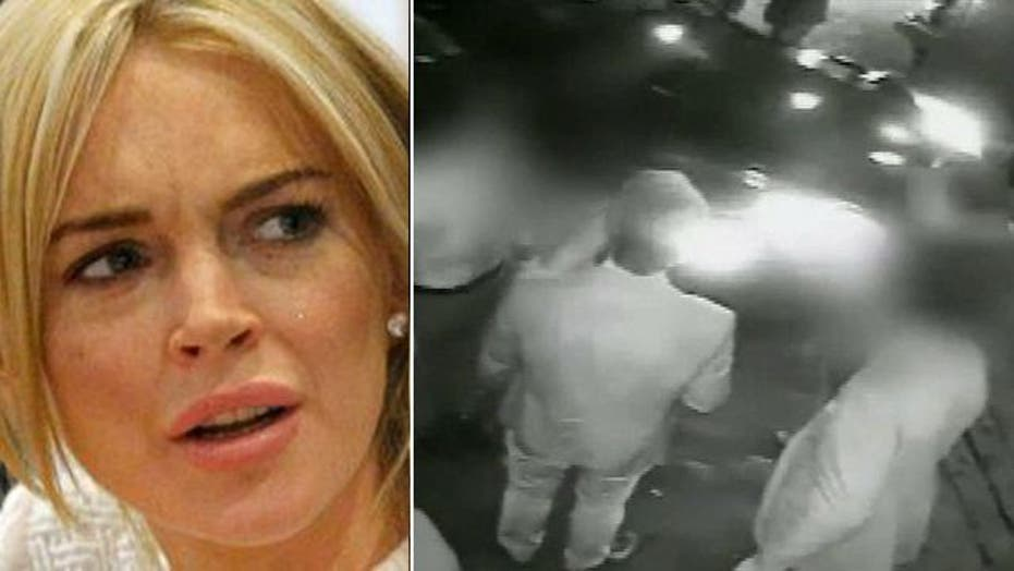 Surveillance video released in LiLo's NYC hit-and-run