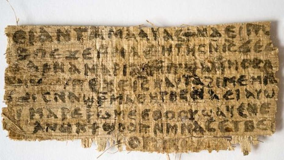 New finding hints that Jesus had a wife