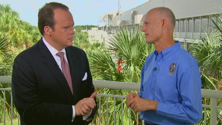 Florida governor talks race for the White House, previews Fox News-Google debate