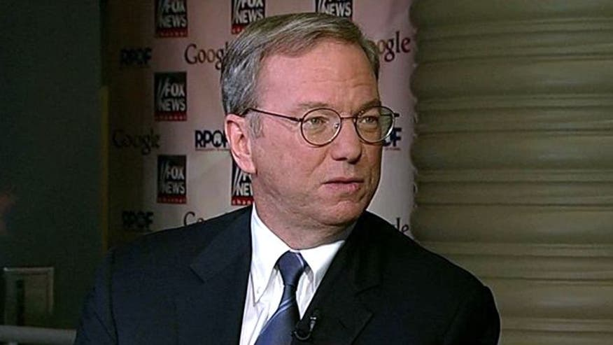 Eric Schmidt on 'Special Report'
