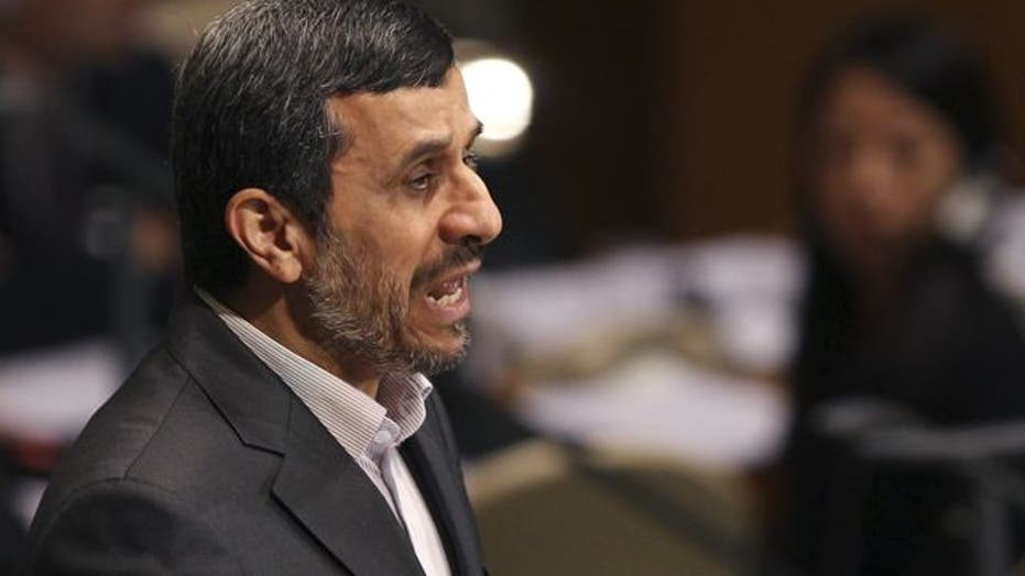 Ahmadinejad: Israel a fake regime that will be 'eliminated'